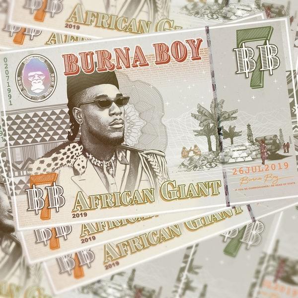 Burna Boy African Giant Album Lyrics