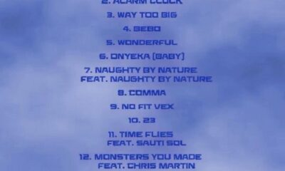 Burna Boy Twice As Tall Tracklist