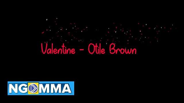 Otile Brown Valentine Lyrics