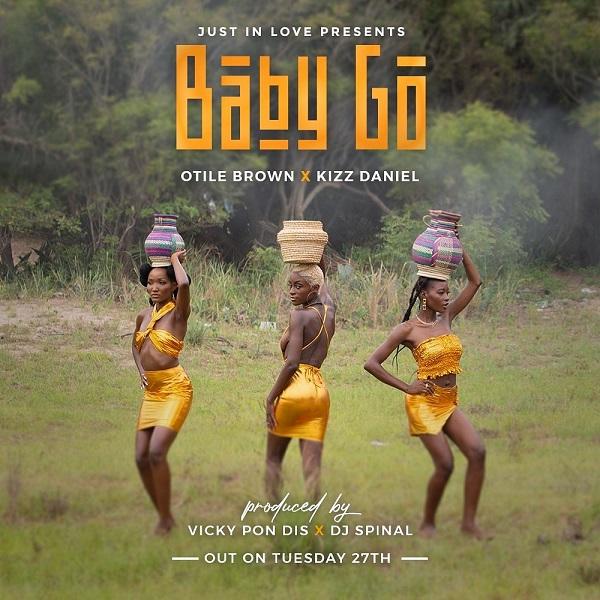 Otile Brown Baby Go Lyrics