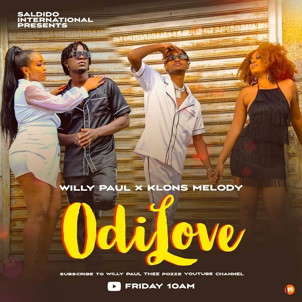Willy Paul Odi Love Lyrics