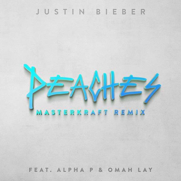 Justin Bieber Peaches Masterkraft Remix Lyrics
