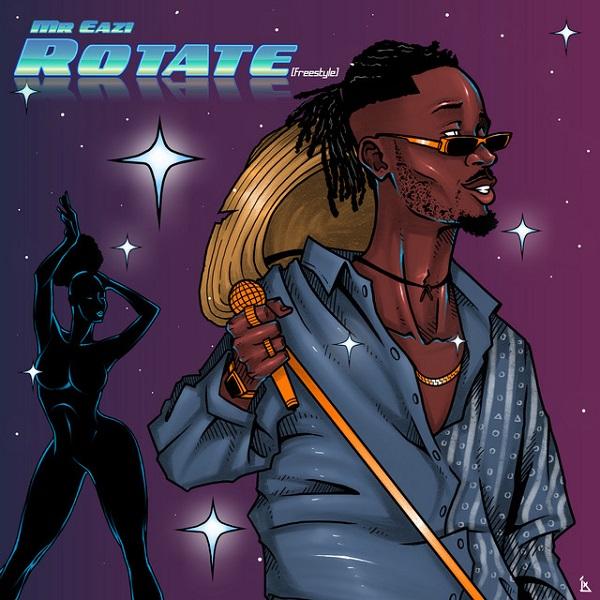 Mr Eazi Rotate Freestyle Lyrics