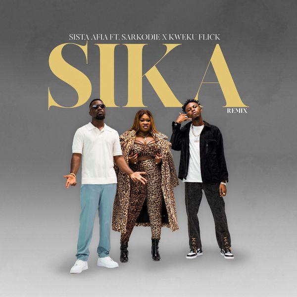 Sista Afia Sika Remix Lyrics