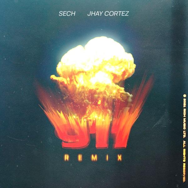 Sech Jhay Cortez 911 Remix Lyrics